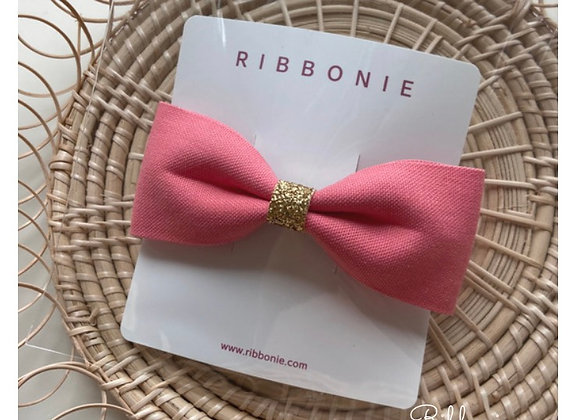 Big Bow with Glitte Band Clip