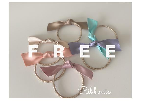 Free Ribbonie Bow Hair Tie (discount code)