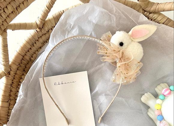 Ribbonie Easter Bunny Headband