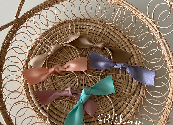 Simple Ribbon Tie Set