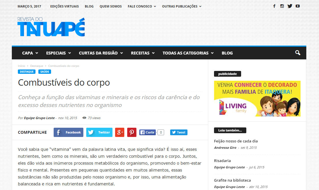 Revista do Tatuapé