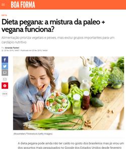 Revista Boa Forma - Dieta pegana (25 de
