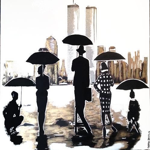 Rain In New-York