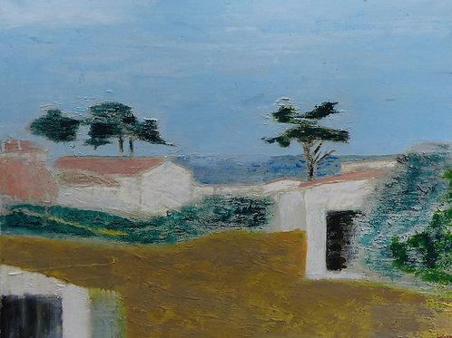 070 Ronan Le Meliner  Noirmoutier  72x92 cm