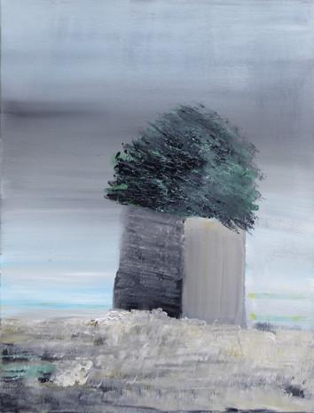 Ronan Le Meliner Ruine IV 61x46 cm 24x17