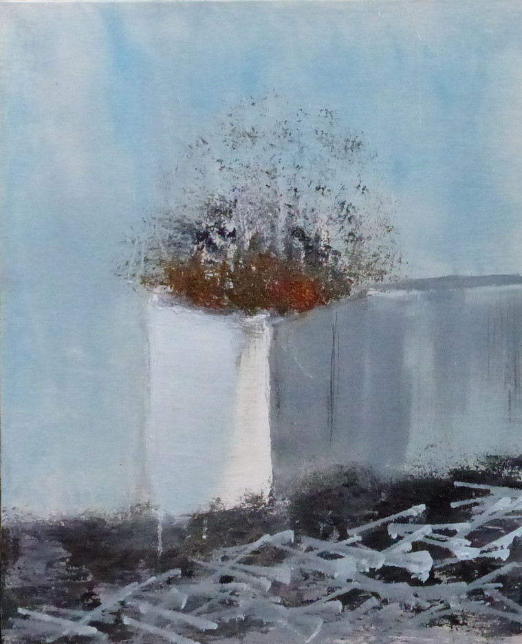 Ronan Le Meliner Ruine II 65x50 cm