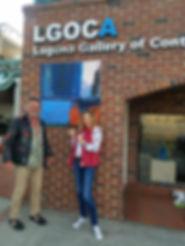 Bridget and Ronan at LGOCA