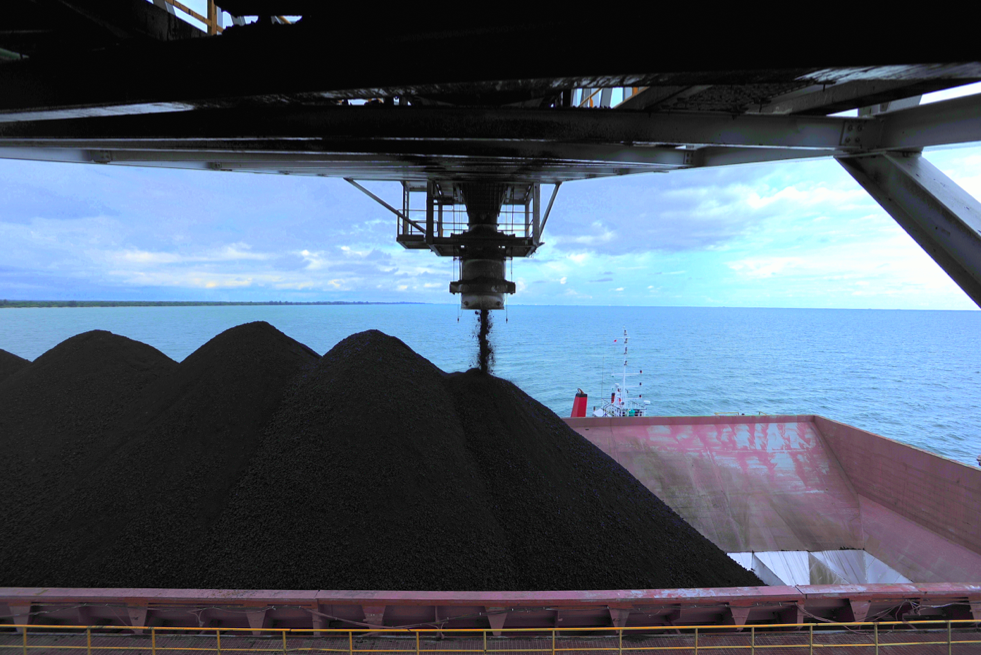 Coal Port of West Mulia Kintap South