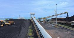 Pelabuhan Batubara Lubuk Tutung,