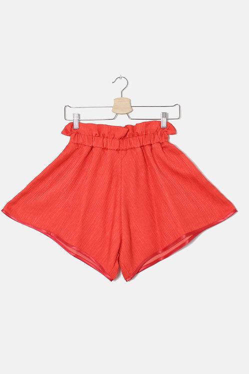 SHORT Orange Silk