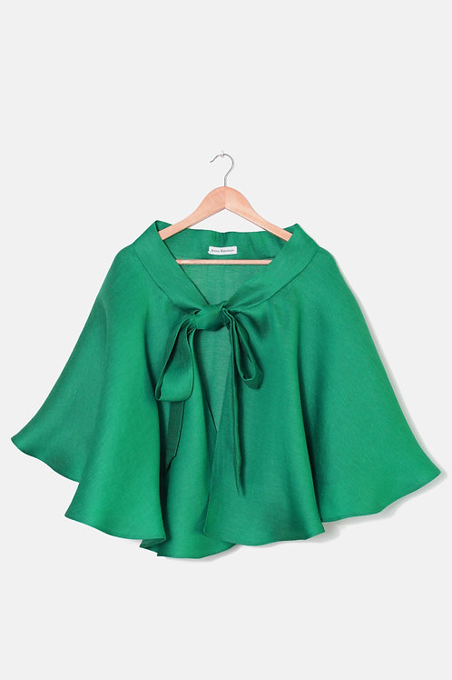 THE CAPE SKIRT Emerald