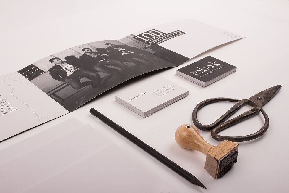 packaging tobak streetwear stationary