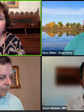 David Stibbe participates in Ecology Ottawa debate