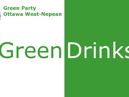 Join the fun! Green Drinks in Ottawa West-Nepean