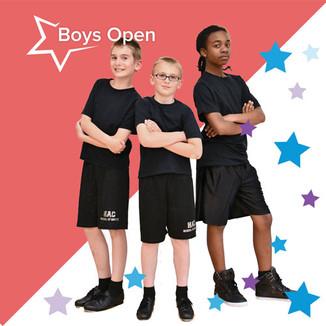 Boys Open