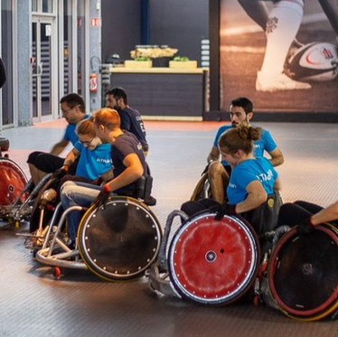 Sensibilisation : le show Adapta'Cup 2019
