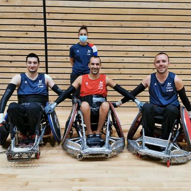 Quad Rugby : stage équipe de France