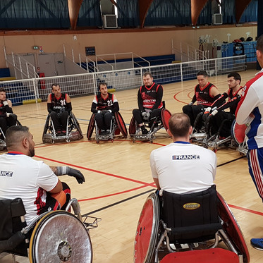 Quad Rugby : stage Invictus Games 2020