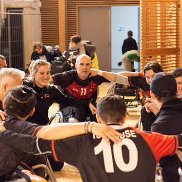 XIII Fauteuil : vice-champions de France élite 2 !