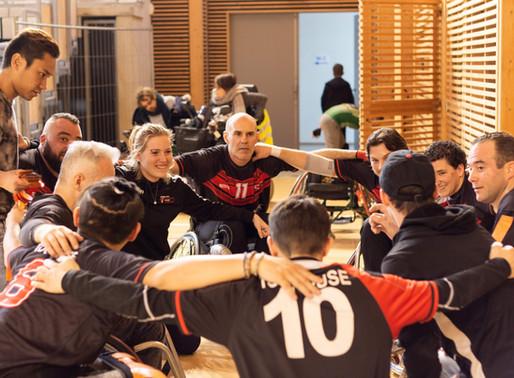 XIII Fauteuil : vice-champions de France !