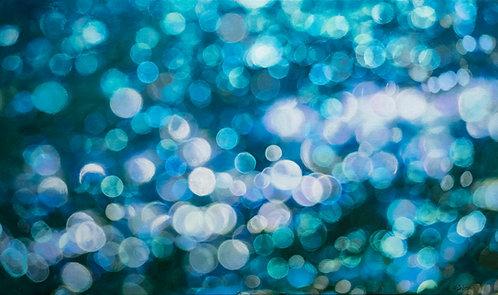 Sun Glitter IV | 76 cm (W) x 46 cm (H) x 3.5 cm | Acrylic on Canvas