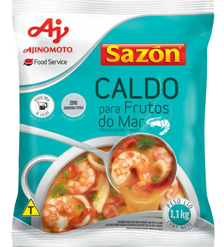 CALDO SAZÓN® PROF. FRUTOS DO MAR