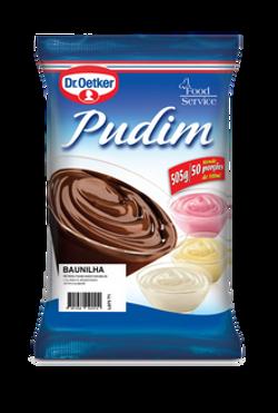 PUDIM DE BAUNILHA