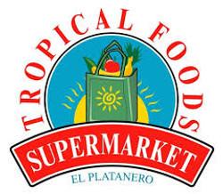 tropical food supermarket