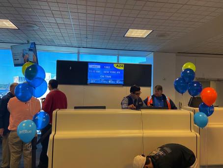 Inaugural Flight: jetBlue IAH-JFK