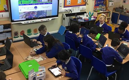 Bilston CE Primary Receives ICT Mark