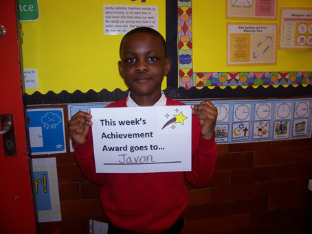 Achievement Awards - Week 15