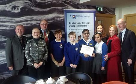 FairTrade success for Bilston CE Primary School