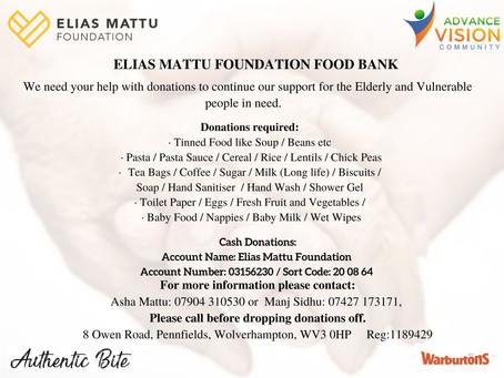 ELIAS MATTU FOUNDATION FOOD BANK
