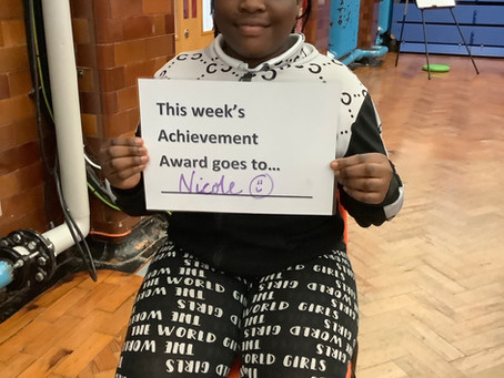 Achievement Winner - Year 6