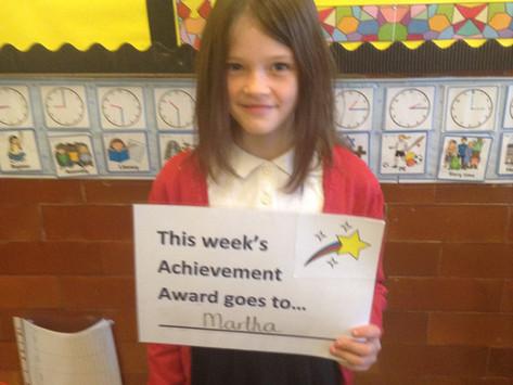 Achievement Awards - Week 17