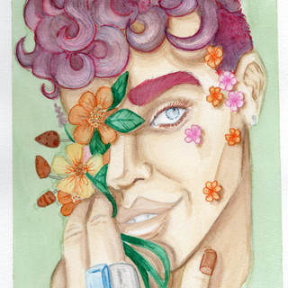 Flower boy 001