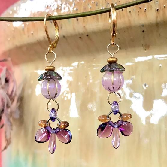 SOLD! Pixie Lantern Earrings