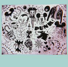"""""""Garbage Punk Pt. 2"""" Art print"""