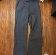Slick Gray Pants