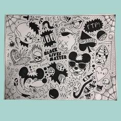 """""""Garbage Punk Pt. 1"""" Art Print"""