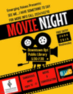 Copy of Movie Night Poster - Made with P