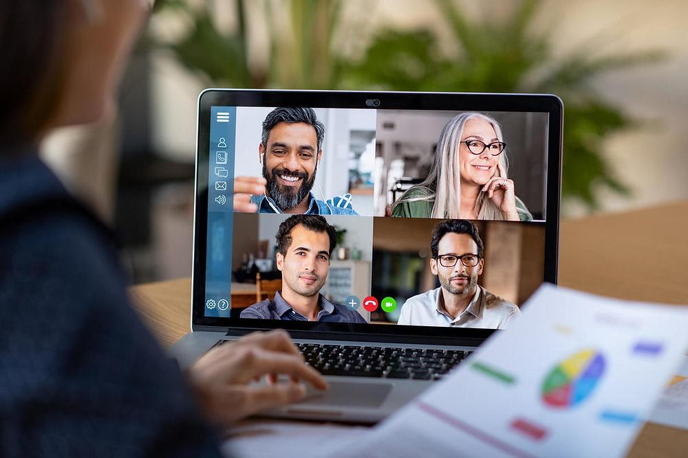 Cómo tener éxito en una reunión virtual