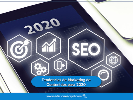 Tendencias de Marketing de Contenidos para 2020