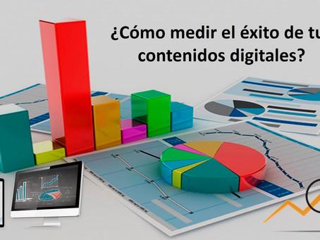 ¿Cómo medir el éxito de tus contenidos digitales?