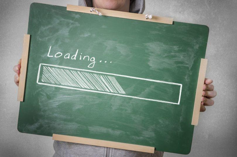 tiempo de carga web