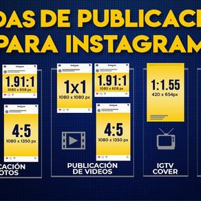 Medidas de Imágenes y Videos para Instagram