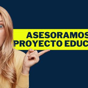 Asesoramos tu Institución o Proyecto Educativo💡