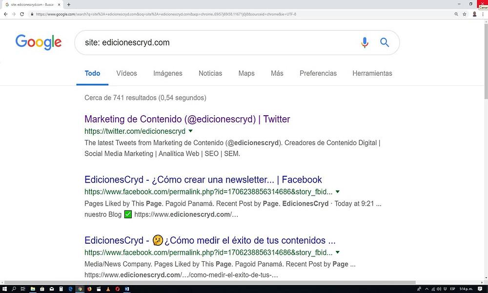 Descubre los Search Commands de Google más increíbles - Ediciones Cryd