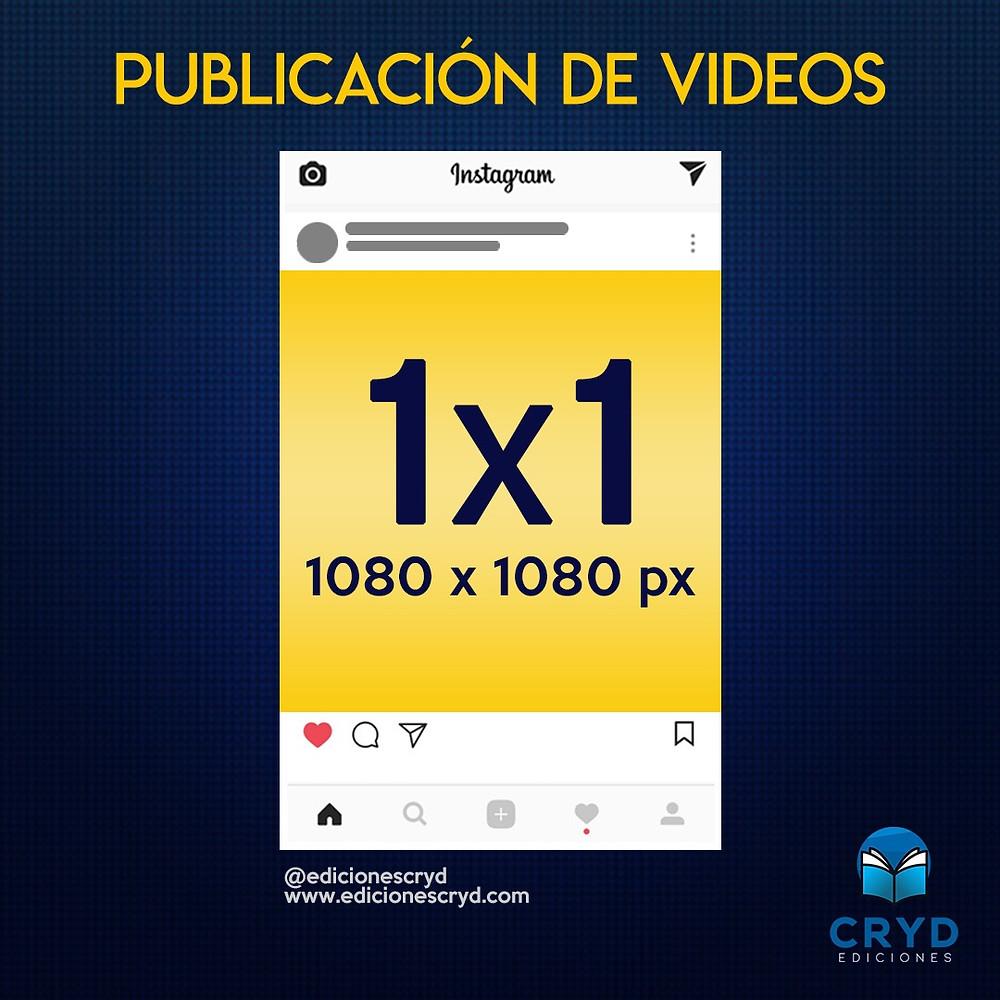 Medida de Videos para Instagram
