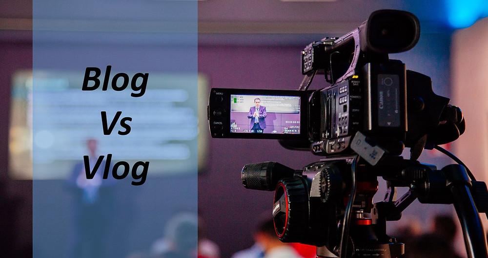 Blog vs Vlog - Ediciones Cryd